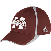 Adidas NCAA College Football Curved Hat Cap Size S/M MISSISSIPPI State  - $15.00