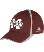 Adidas NCAA College Football Curved Hat Cap Size S/M MISSISSIPPI State  - $20.00