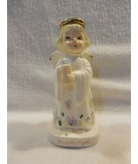 Lipper & Mann Japan Ceramic November Birthday Angel Figurine w/Umbrella ... - $7.95