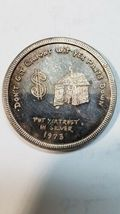 Mother Lode Mint 1973 Round Don't Git Caught Wit Yer Pants Down 1 Oz .999 Silver image 3
