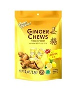 Prince of Peace Ginger Chews Candy with Lemon (100% Natural) 4 oz ( Pack... - $11.83