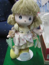 """1989 Precious Moments Doll W/Stand """"Songs Of Love"""".......Sale Free Postage Usa - $19.01"""