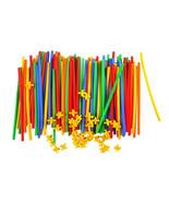 100pcs Assembled Building Blocks Toy Children Educational Colorful Plast... - $19.99