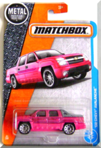 Matchbox - '02 Chevy Avalanche: MBX Adventure City #24/125 (2017) *Pink ... - $4.00