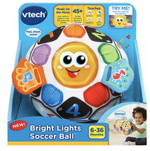 NEW VTech 5091 Bright Lights Soccer Ball 6-36 months Baby Toddler Toy - $13.85