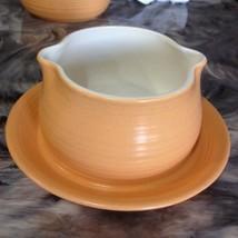 VINTAGE FRANCISCAN EARTHENWARE SIERRA SAND GRAVEY BOAT DISH - $12.99