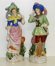 """Vintage Pair of 10"""" Figurines - Japan - $28.00"""
