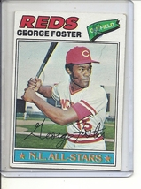 (B-1) 1977 Topps #347: George Foster NL All-Star - $1.25