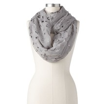 Juicy Couture Love Foil Infinity Scarf frosted ... - $17.45