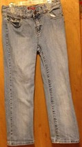 Faded Glory Blue J EAN S Size 6 Girls 28X24 1/2 With Spandex - $2.95