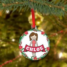 Personalized Christmas Ornament for Girl - $9.99