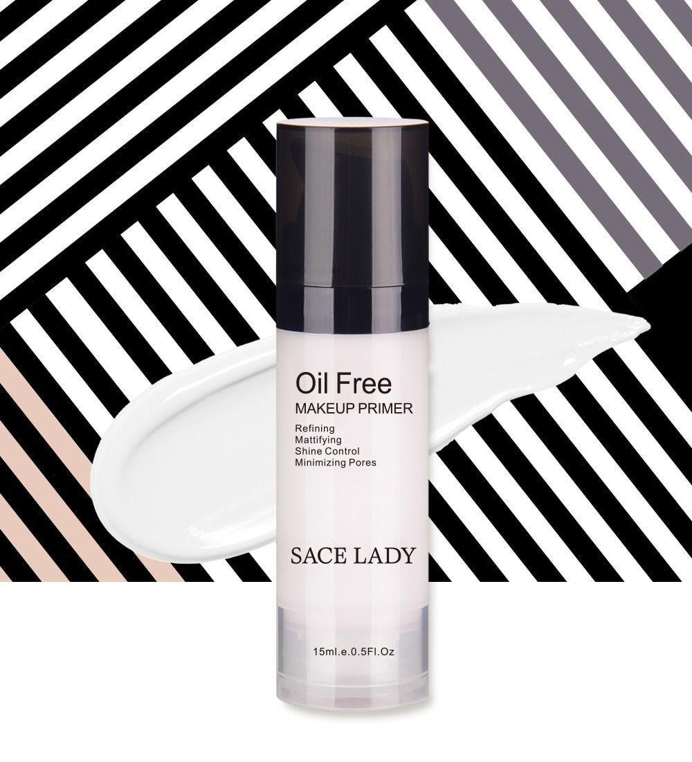 Face Makeup Primer Oil Free Professional Base Make Up Matte Foundation Pores image 3