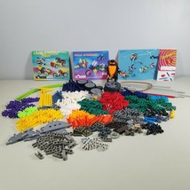 K'NEX Lot Building Toys With Robot and 4 K'NEX Instruction Books - $49.99