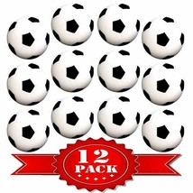 Table Soccer Foosballs Replacements Mini Black and White Soccer Balls - ... - $12.74