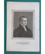 PETER VON CORNELIUS German Painter - 1840s Portrait Print - $13.50