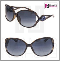 2c5a181bc23a3 Christian Dior Volute 2F Havana Blue Gradient Wrap Sunglasses VOLUTE2FS  Women -  296.01