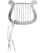 Silver Plated Angel Harp for Angel Costumes - $6.33