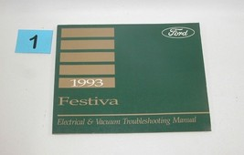 1993 Festiva Electrical and Vacuum Trouble Shooting Service Manual GOOD USED 1 - $14.80