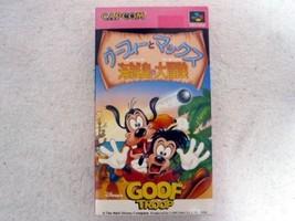 CAPCOM  Disney  Goof Troop Game Super famicon New Rare Japan G32 - $680.00
