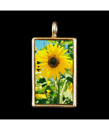 Sunny Day - Sunflower - Photograph Pendant by KV - $19.99
