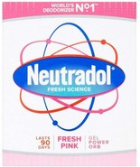 3 Packs - Neutradol Fresh PINK Gel Odour Destroyer Super Fresh Long Last - $13.50