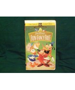 Disney Fun and Fancy Free VHS Tape Clamshell 50th Anniversary Limited Ed... - $4.99