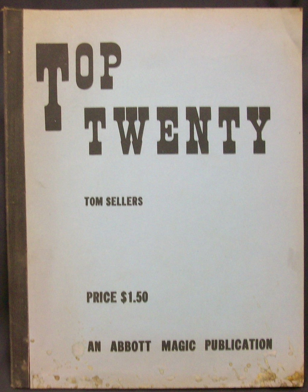 Primary image for Top Twenty, by Sellers Tom