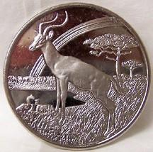 Sierra Leone ANIMALS of AFRICA IMPALA '06 CUNI COIN UNC - $22.24