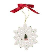 Spode Christmas Tree Ornament Snowflake - $19.99
