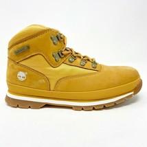 Timberland Euro Hiker Outdoor Boots Wheat Tan Nubuck Boys Junior 96975 - $69.95