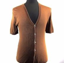 Z-45A224 New Dolce & Gabbana D&G V-Neck Cardigan Sweater Short Sleeve Si... - $169.99