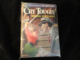 Cry Tough Paperback Book Avon 244 Irving Shulma... - $4.99