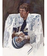 Great Bob Lilly Dallas Cowboys Art Print - $24.74