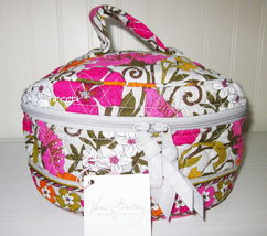 Vera Bradley Travel Cosmetic Case Tea Garden Retired Style New with Tags - $45.00