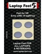 Laptop rubber feet forHP ENVY X360 15-a 15 compatible set (4 pc self adh... - $10.36