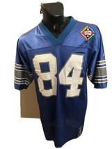 MENS Reebok Detroit Lions Canada Day Football Jersey #84 Herman Moore Me... - $59.39
