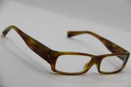 New Alain Mikli Al 0848 0001 Yellow Eyeglasses Authentic Rx AL0848 54-15 W/CASE - $96.33