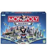 Monopoly Here and Now Board Game 2006 Parker Brothers real estate silver... - $37.77