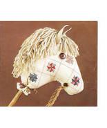 Slow Poke Stuffed Stick Horse Cross Stitch Pattern - $7.99