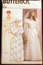 Butterick 4873 Bridal/Evening Dress sz 8-10-12 sewing pattern - $10.99