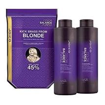 Joico Color Balance Purple Shampoo & Conditioner Liter Duo - $44.55