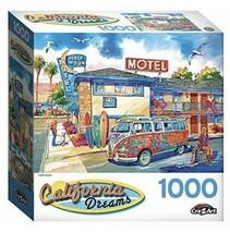 Cra-Z-Art California Dreams 1000 Piece Jigsaw Puzzle - HALF MOON - excel... - $10.74