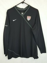 Nike Team USA US Olympic Nationals HOPE SOLO Goalie Jersey SZ XL Vtg USWNT - $139.94