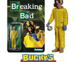 """FUNKO SUPER 7 Walter White Cook Breaking Bad ReACTION 3.75"""" Action Figure Kenner"""