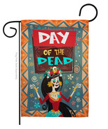 Joyful Day of Dead - Impressions Decorative Garden Flag G162092-BO - $19.97
