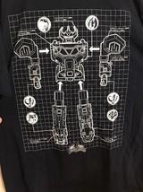 Mighty Morphin Power Rangers T-Shirt XL Feb 2017 Loot Crate Exclusive Da... - $10.39