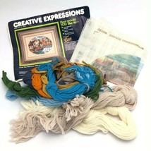 Vintage Creative Expressions Needlepoint Kit - The Old Grist Mill - 1984 - $16.57