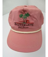 Southgate Gold Course Vintage Made in USA Adjustable Adult Ball Cap Hat - £19.42 GBP