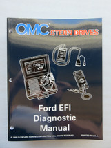 1996 OMC Cobra Stern Drive Ford EFI Diagnostic Service Manual OEM 507146 - $3.92