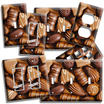 Milk And Dark Chocolate Candie Light Switch Outlet Wall Plate Room Kitchen Decor - $9.99+